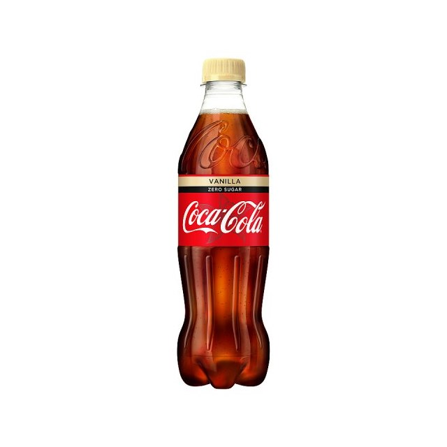 COKE ZERO VANILLA 500ML