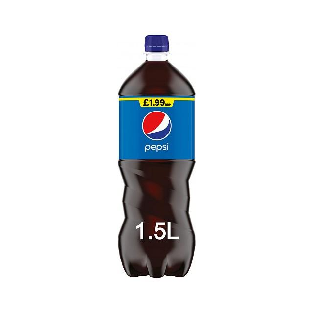 PEPSI £1.99 1.5LTR