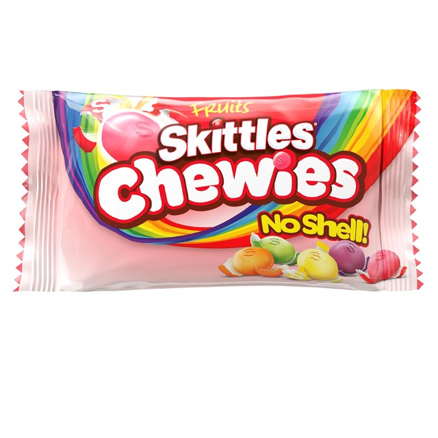 SKITTLES FRUITS CHEWIES 45g (36 PACK)