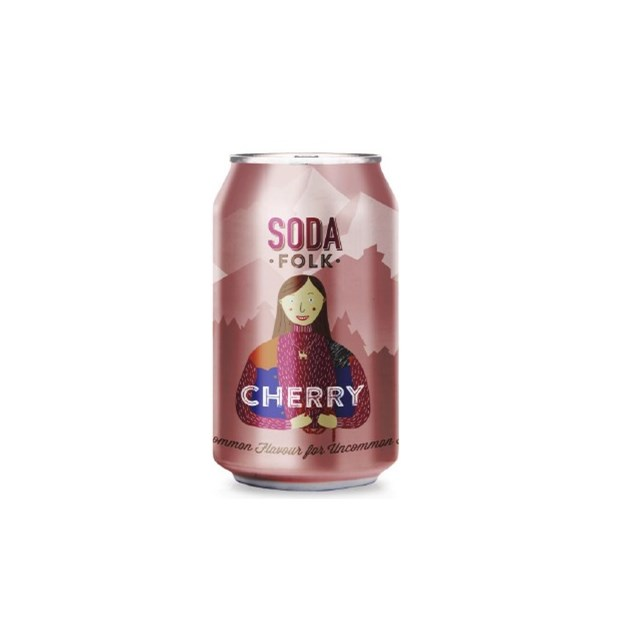 SODA FOLK CHERRY CANS