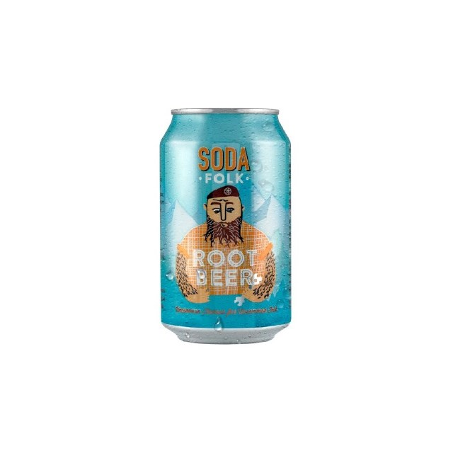 SODA FOLK ROOT BEER CANS