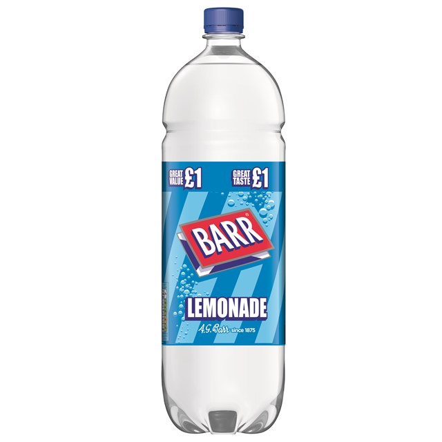 BARRS LEMONADE 2 Litre £1 (6 PACK)