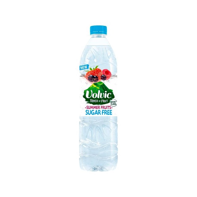 VOLVIC TOUCH OF FRUIT SUGAR FREE SUMMER FRUITS 1.5L