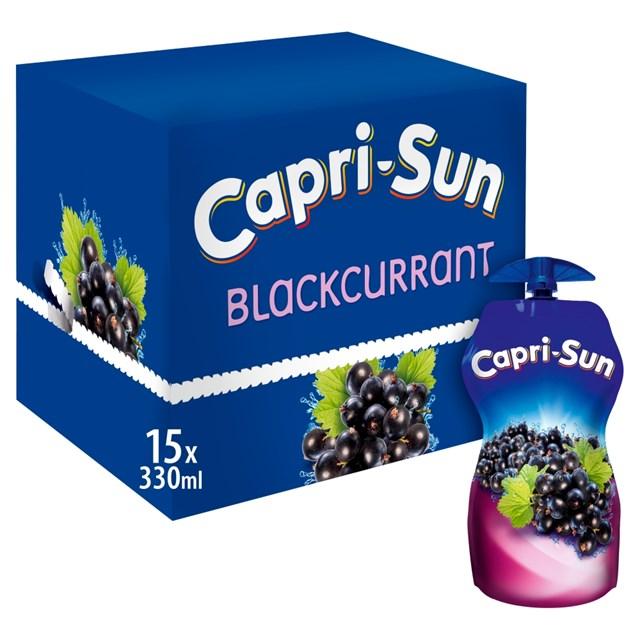 CAPRI SUN 89P POUCH ORANGE & LEMON NO ADDED SUGAR