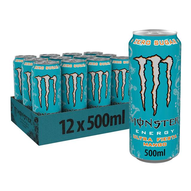 MONSTER ENERGY DRINK ULTRA FIESTA 500ml (12 PACK)