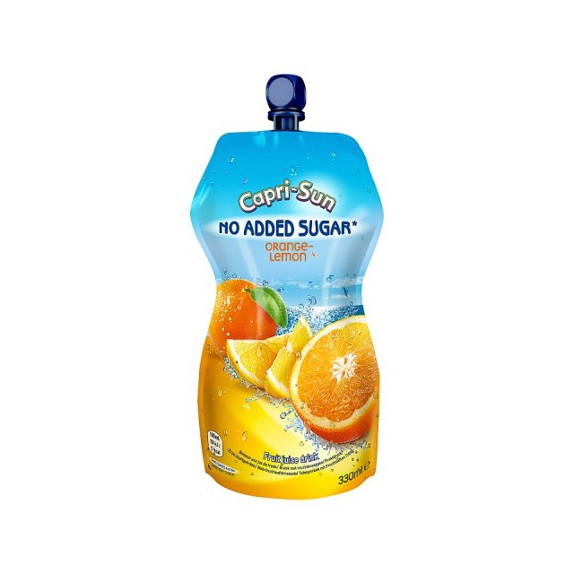 CAPRI SUN SPORTS ORANGE & LEMON NO ADDED SUGAR