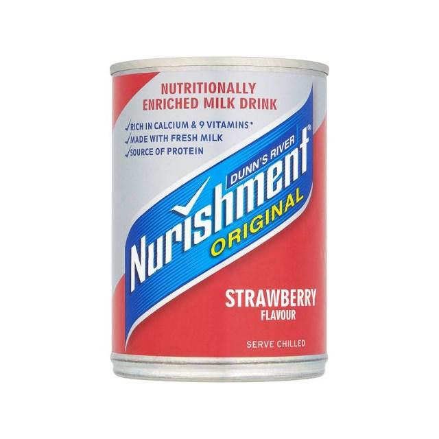 NURISHMENT £1 STRAWBERRY CAN