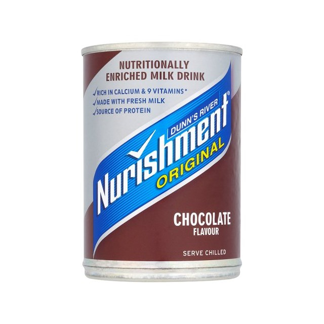NURISHMENT £1 CHOCOLATE CANS