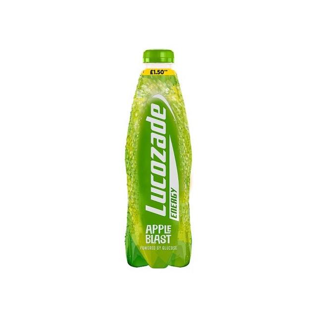 LUCOZADE ENERGY APPLE 900ml £1.50 (12 PACK)