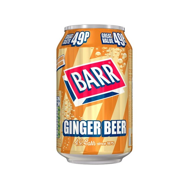 BARRS 45P GINGER BEER