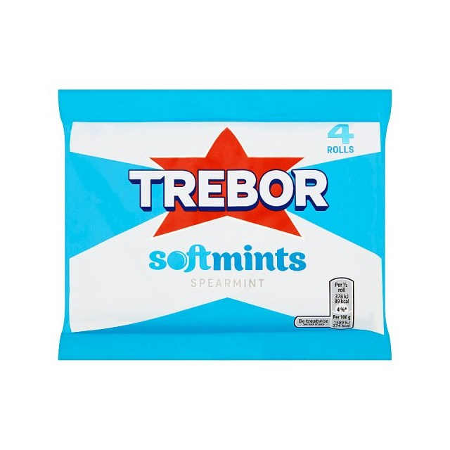 TREBOR SOFTMINTS BLUE MULTIPACK