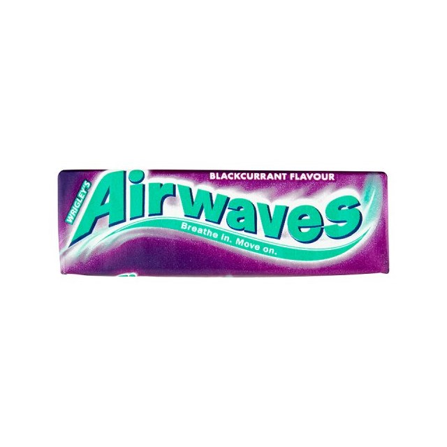 WRIGLEYS AIRWAVES BLACKCURRANT