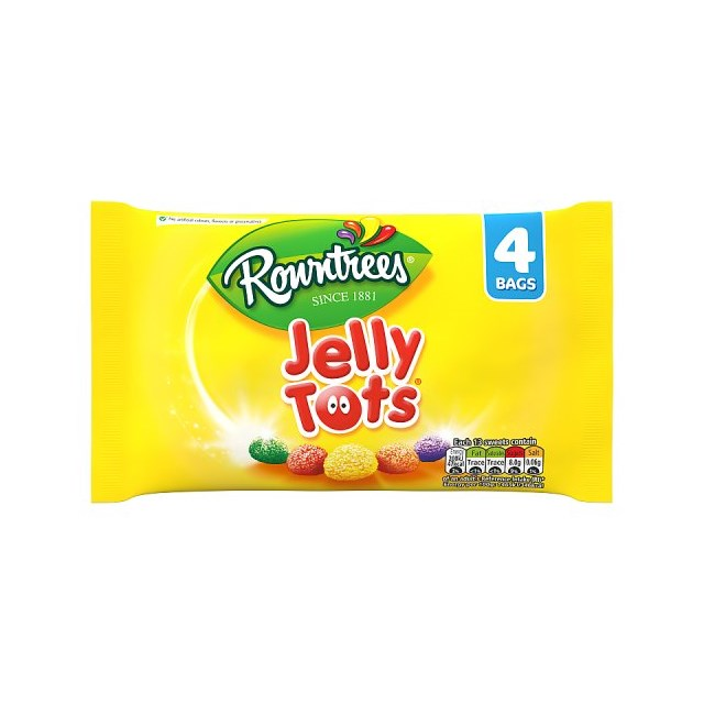 ROWNTREE JELLY TOTS MULTIPACK