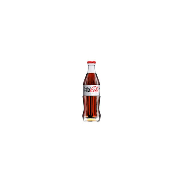 DIET COKE GLASS 200ML