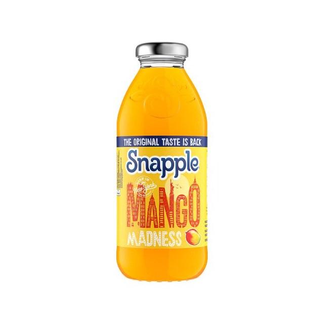 SNAPPLE MANGO 473ml (12 PACK)