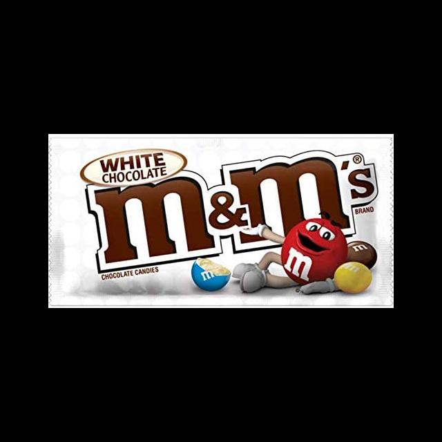 USA M&M'S WHITE CHOCOLATE 42g