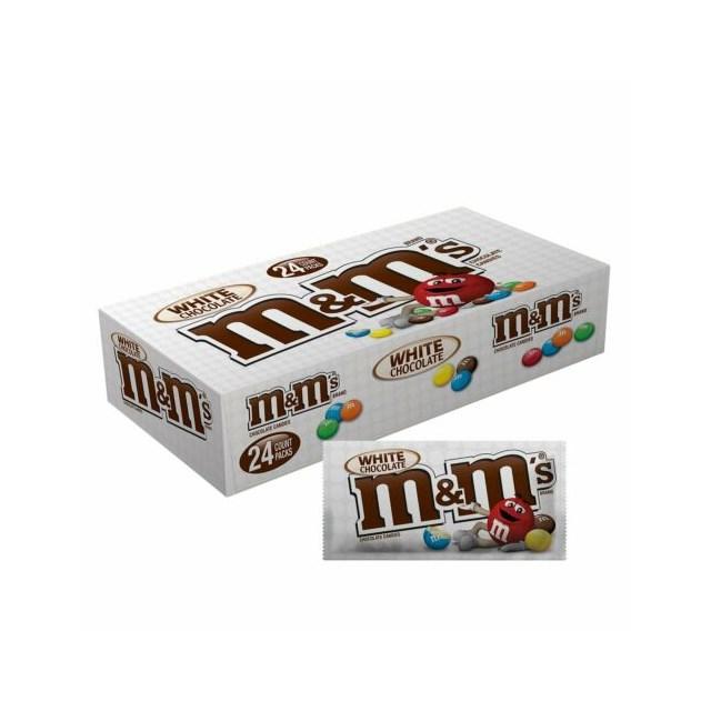 USA M&M'S WHITE CHOCOLATE 42.5g  (24 PACK)