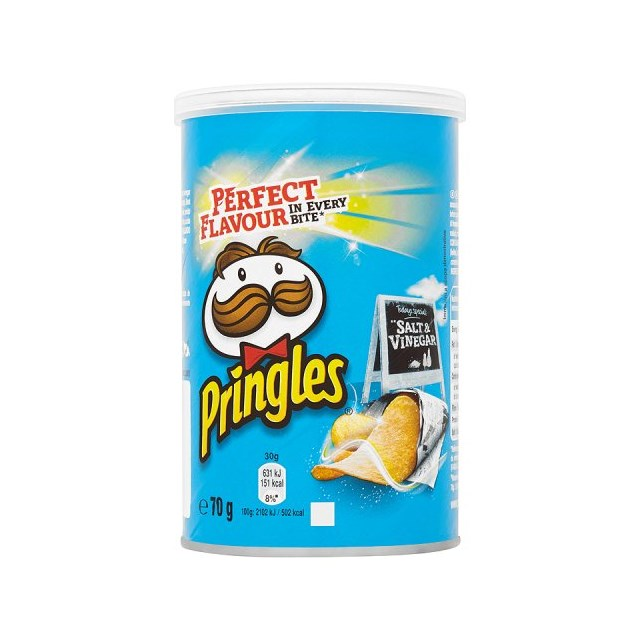PRINGLES 70G SALT & VINEGAR