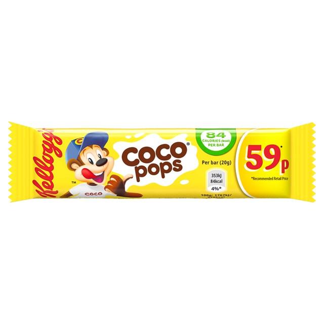 KELLOGGS CEREAL BARS 49P COCO POPS