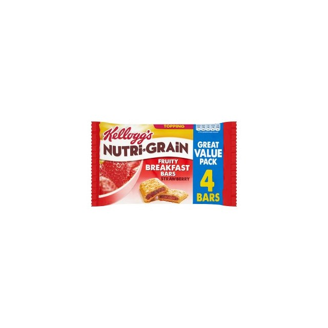 KELLOGGS CEREAL BARS NUTRIGRAIN MULTIPACK STRAWBERRY