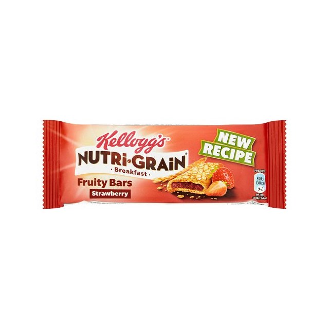 KELLOGGS CEREAL BARS NUTRIGRAIN STRAWBERRY