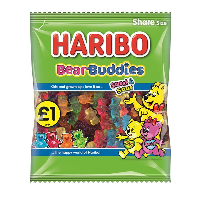 HARIBO £1 BEAR BUDDIES