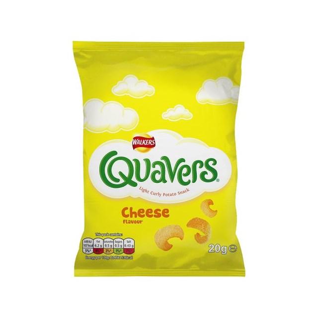 WALKERS QUAVERS 20g Bags (32 PACK)