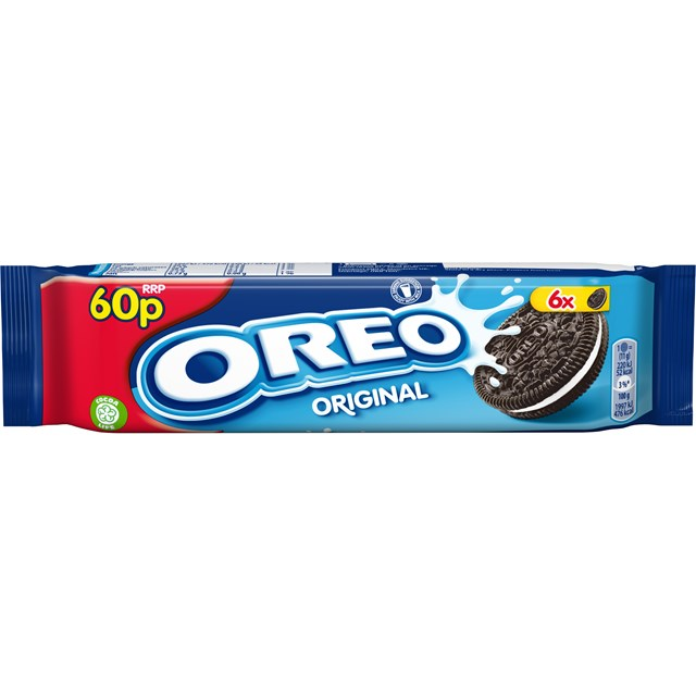 OREO ORIGINAL BISCUITS 66g 60P (20 PACK)