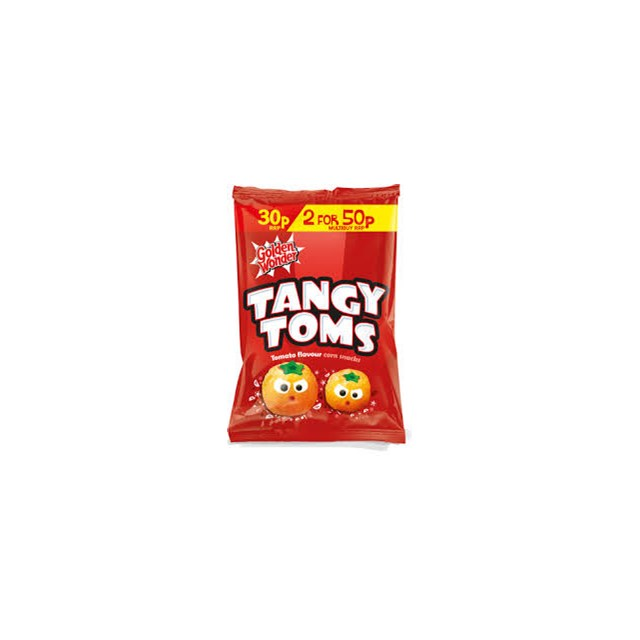 GOLDEN WONDER 2/50P TANGY TOMS
