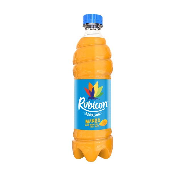 RUBICON SPARKLING MANGO JUICE DRINK 500ML (12 PACK)