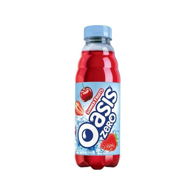 OASIS SUMMER FRUITS ZERO 500ml (12 PACK)