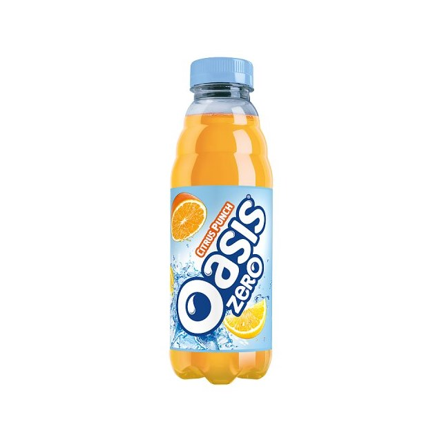OASIS CITRUS PUNCH ZERO 500ml (12 PACK) 31 MAY DATED
