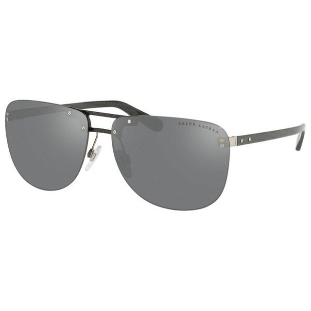 RALPH LAUREN DNA Sunglasses CARBON GREY MIRROR 57066G