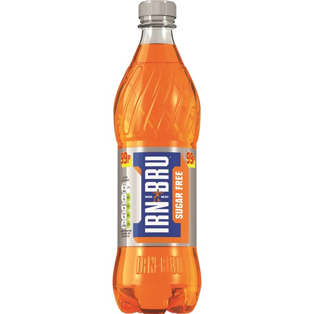 BARRS SUGAR FREE IRN BRU 500ml 99p (12 PACK)