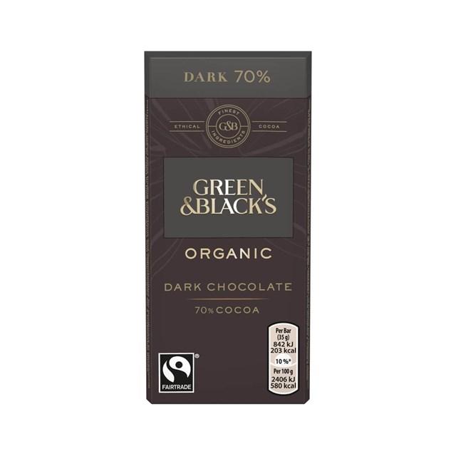 GREEN & BLACK DARK CHOCOLATE