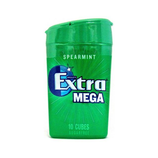 WRIGLEYS EXTRA MEGA CUBES SPEARMINT