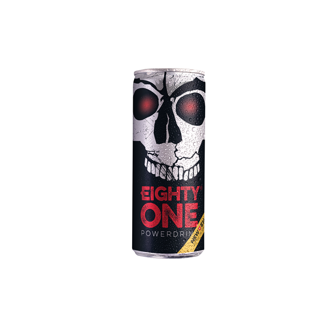 EIGHTY ONE ENERGY DRINK POWERDRINK 250ml (24 PACK)