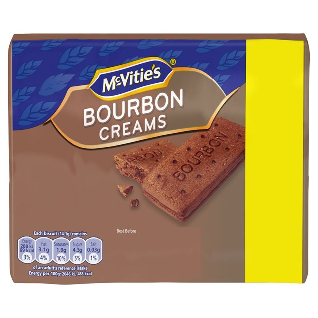 MCVITIES BOURBON CREAMS £1.00
