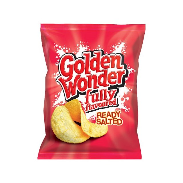 GOLDEN WONDER READY SALTED 48's