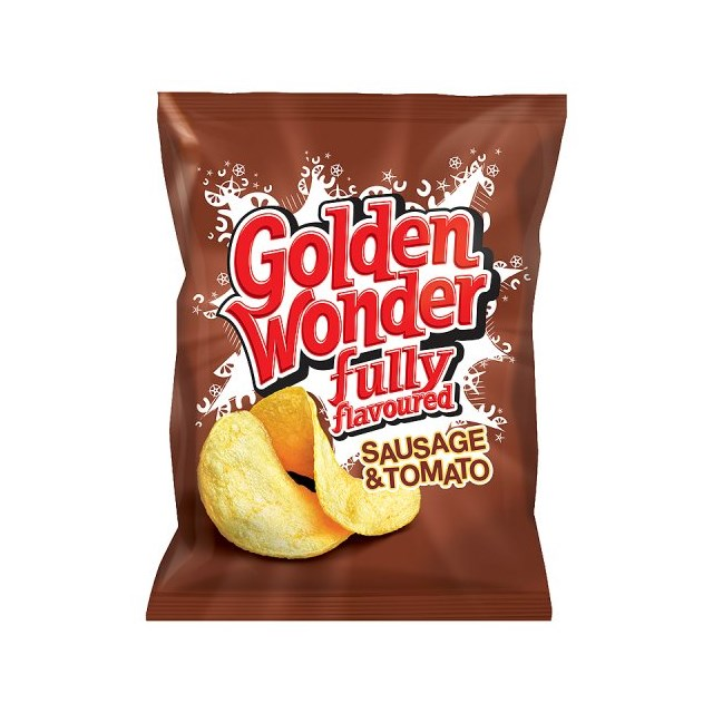 GOLDEN WONDER SAUSGE & TOMATO 48's