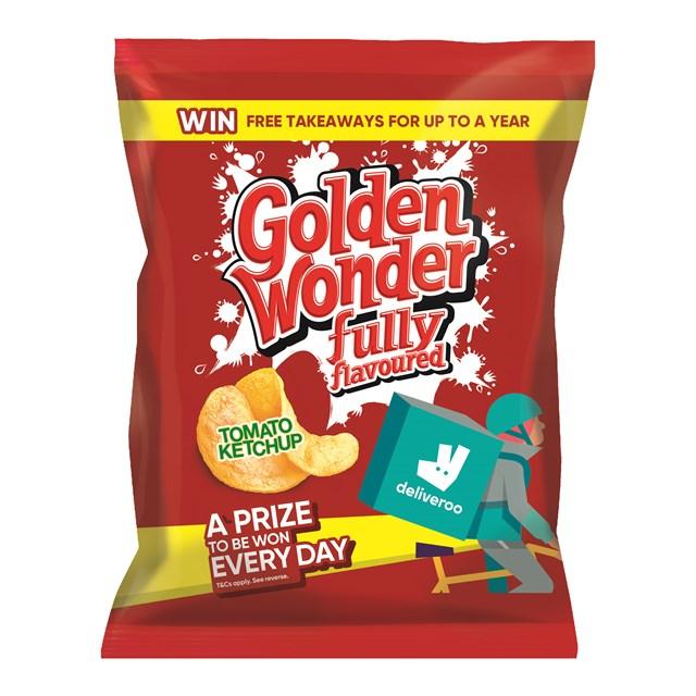 GOLDEN WONDER 32's TOMATO FULL SIZE BAGS JUNE DATED
