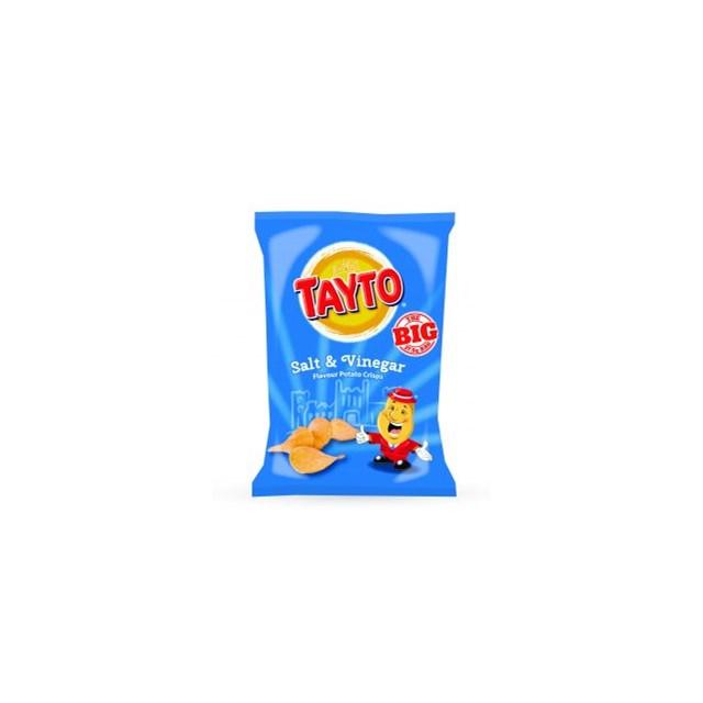 TAYTO SALT & VINEGAR 15% EXTRA