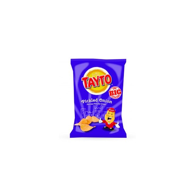 TAYTO PICKLED ONION 15% EXTRA