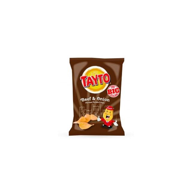 TAYTO BEEF & ONION 15% EXTRA