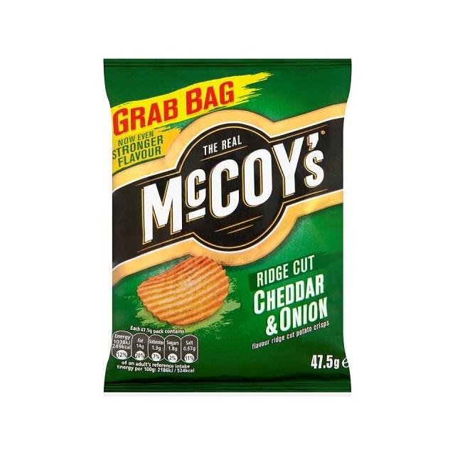 MCCOYS 36'S CHEDDAR & ONION