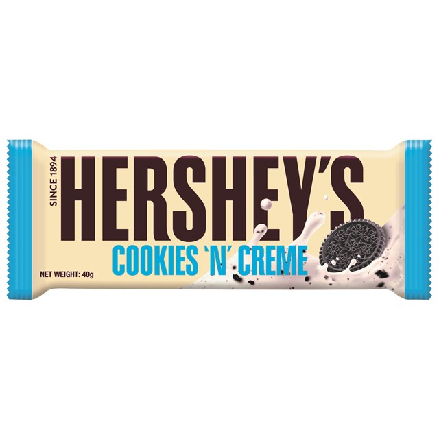HERSHEY'S COOKIES & CREAM 40g (24 PACK)