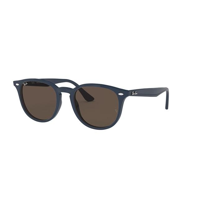 Ray Ban Sunglasses Highstreet Blue Brown 638073