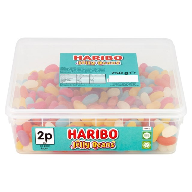 HARIBO TUBS 1p JELLY BEANS