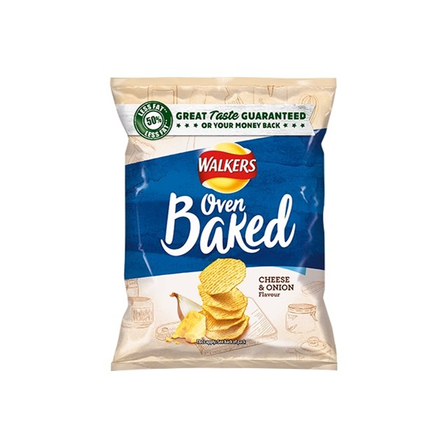 WALKERS BAKED CHEESE & ONION FULL SIZE BAGS