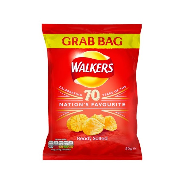 WALKERS GRAB READY SALTED